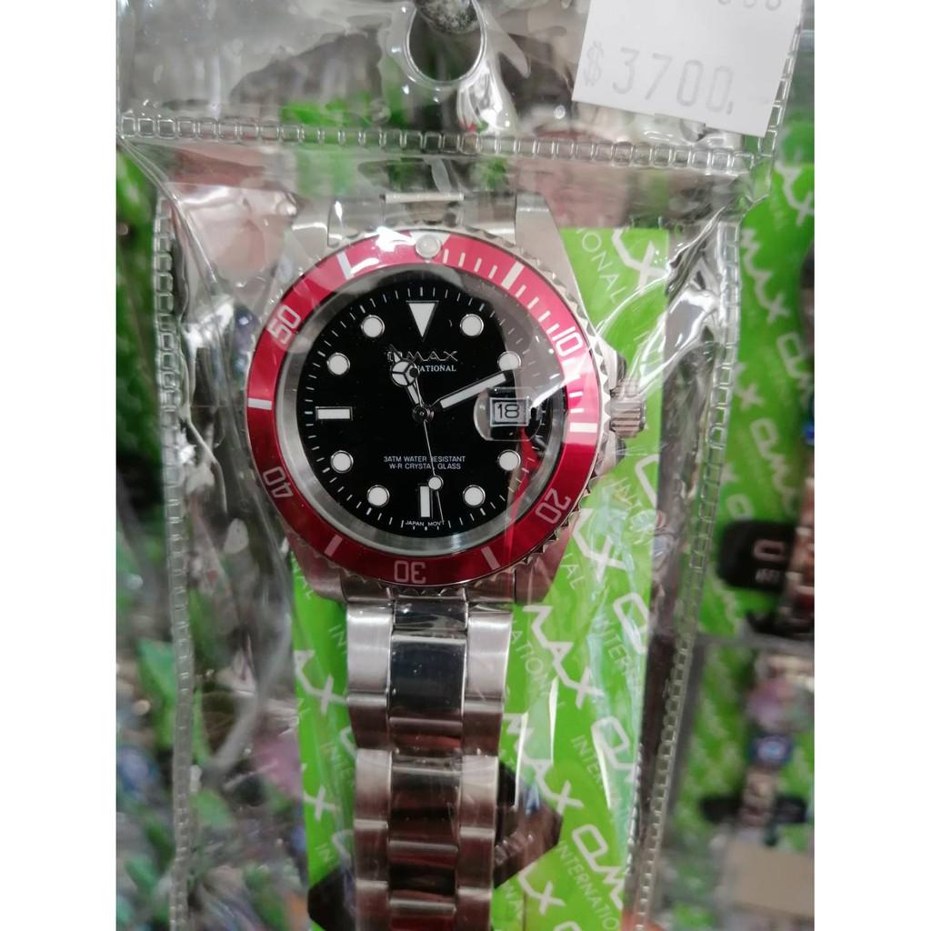 【 幸福媽咪 】網路購物、門市服務 OMAX 歐瑪士 可旋轉框 夜光時刻防水手錶 男錶 潛水錶