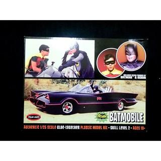 POLAR LIGHTS 1/ 25 蝙蝠俠(1966)蝙蝠車 付1/ 25 蝙蝠俠與羅賓 人形, 塑膠組合模型 台北市