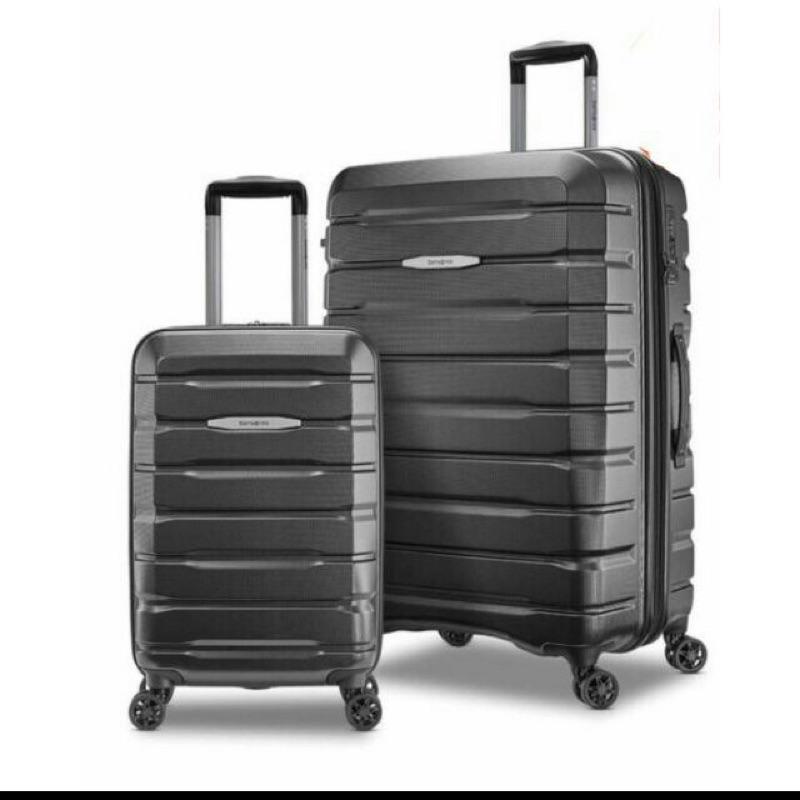 好市多costco 代購Samsonite Luggage Set 硬殼行李箱 尺寸28+21# 1307188