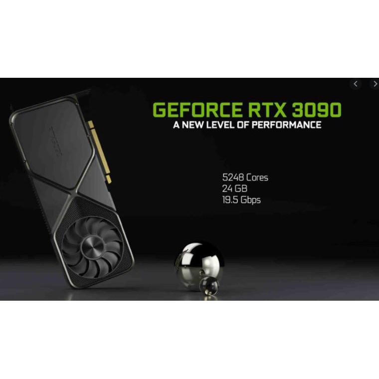 全新 RTX 3090 Founders Edition 創始人版