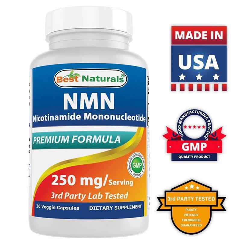美國Best Naturals NMN基因年輕態 β煙酰胺單核苷酸NAD+補充劑 NMN9000 30粒