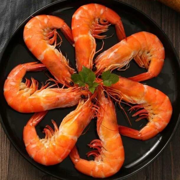 超大泰國香蝦熟白蝦(26/30)《寧夏月氏》
