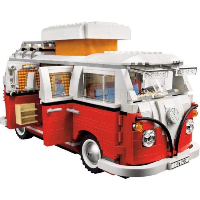樂高 LEGO 10220 Volkswagen T1 Camper Van 福斯露營車