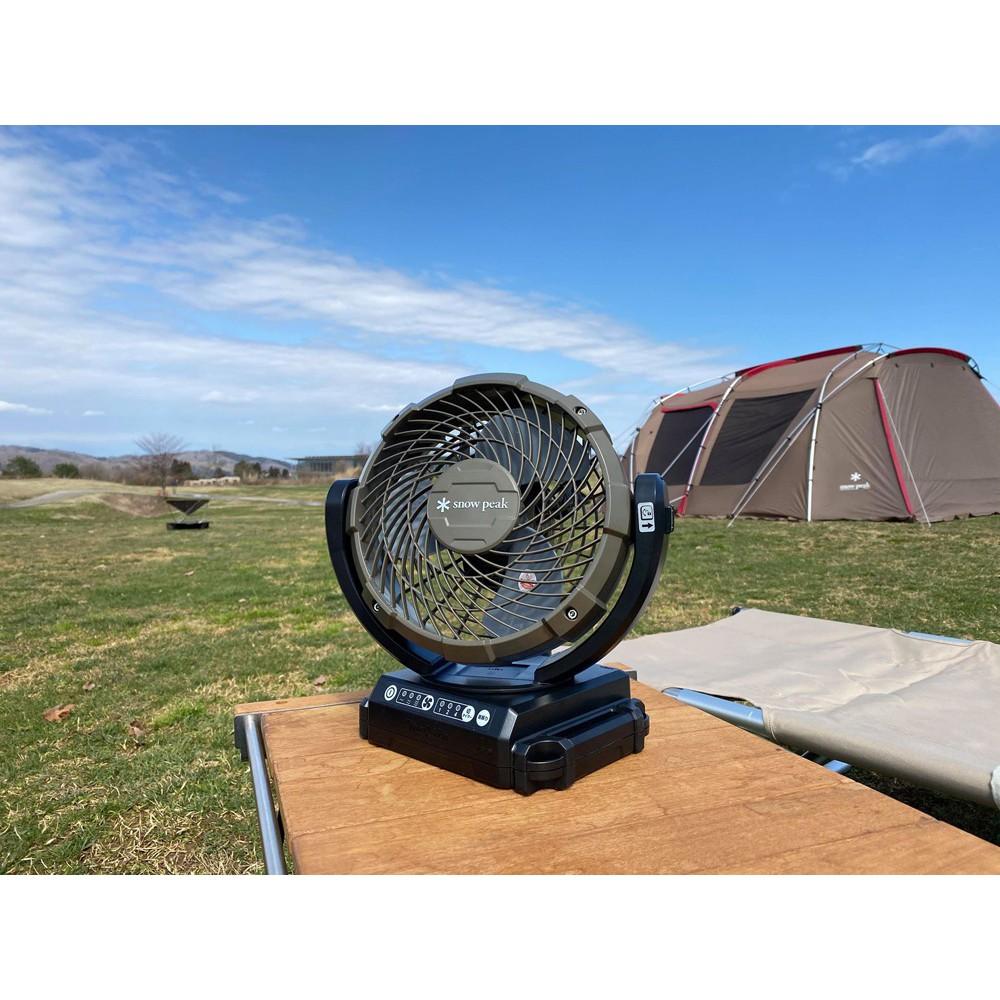 〖 URANO 〗日韓代購 Snow peak MKT-102 電風扇 手提電風扇 戶外電器 登山用品 露營用具