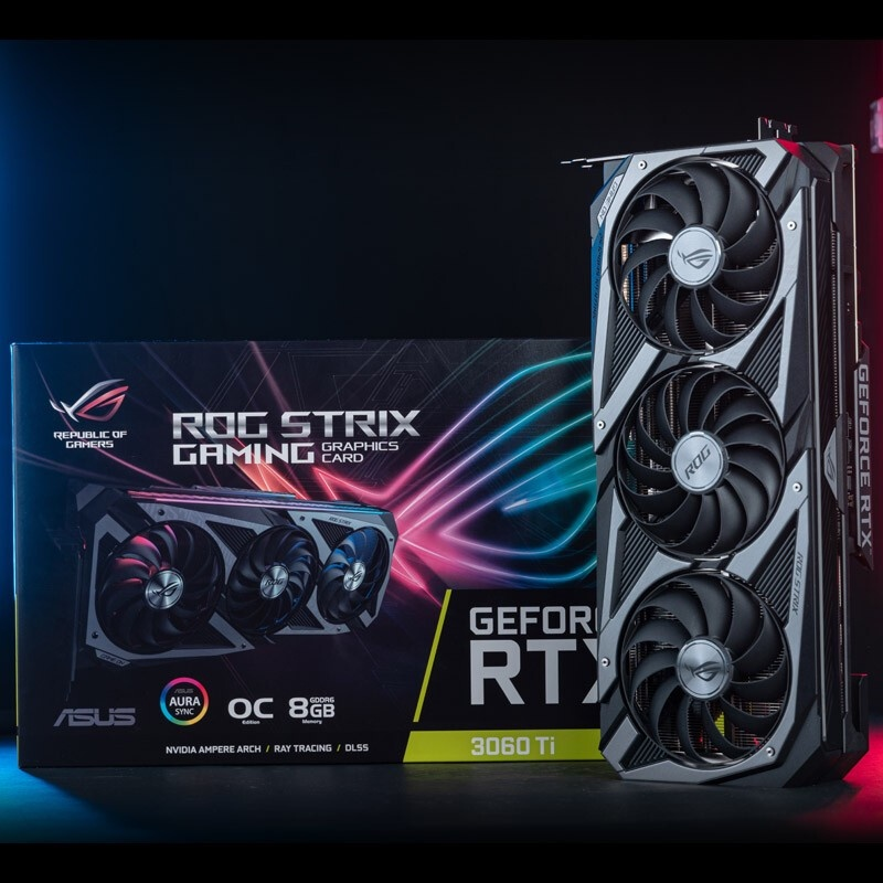 現貨 順豐ROG華碩RTX3060 GAMING 12G/RTX2060猛禽TUF電腦高端遊戲顯卡 支持批發