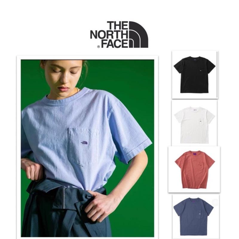 🇯🇵THE NORTH FACE 紫標21ss日系monkey time聯名口袋款 短袖T恤 潮流 滑板