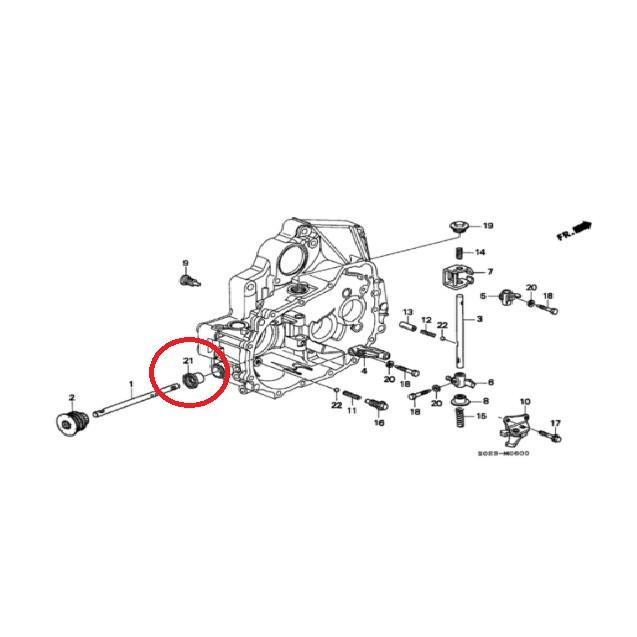 🌸現貨🌸Honda k6/k8 單凸變速箱油封