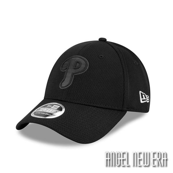 【New Era】MLB 2019 球員周 費城 費城人 P 全黑 老帽 9FORTY【ANGEL NEW ERA】