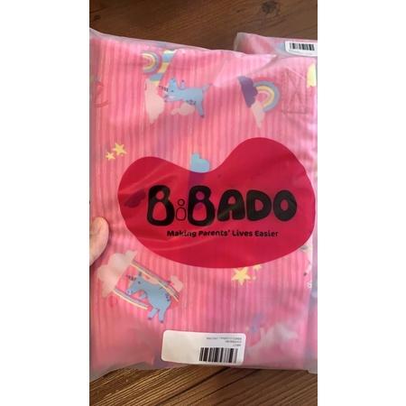 bibado全新英國吃飯圍兜(粉色)