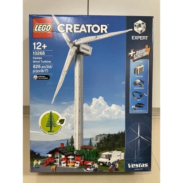 全新樂高 LEGO 10268 Vestas 風力發電 - 三重蘆洲可自取