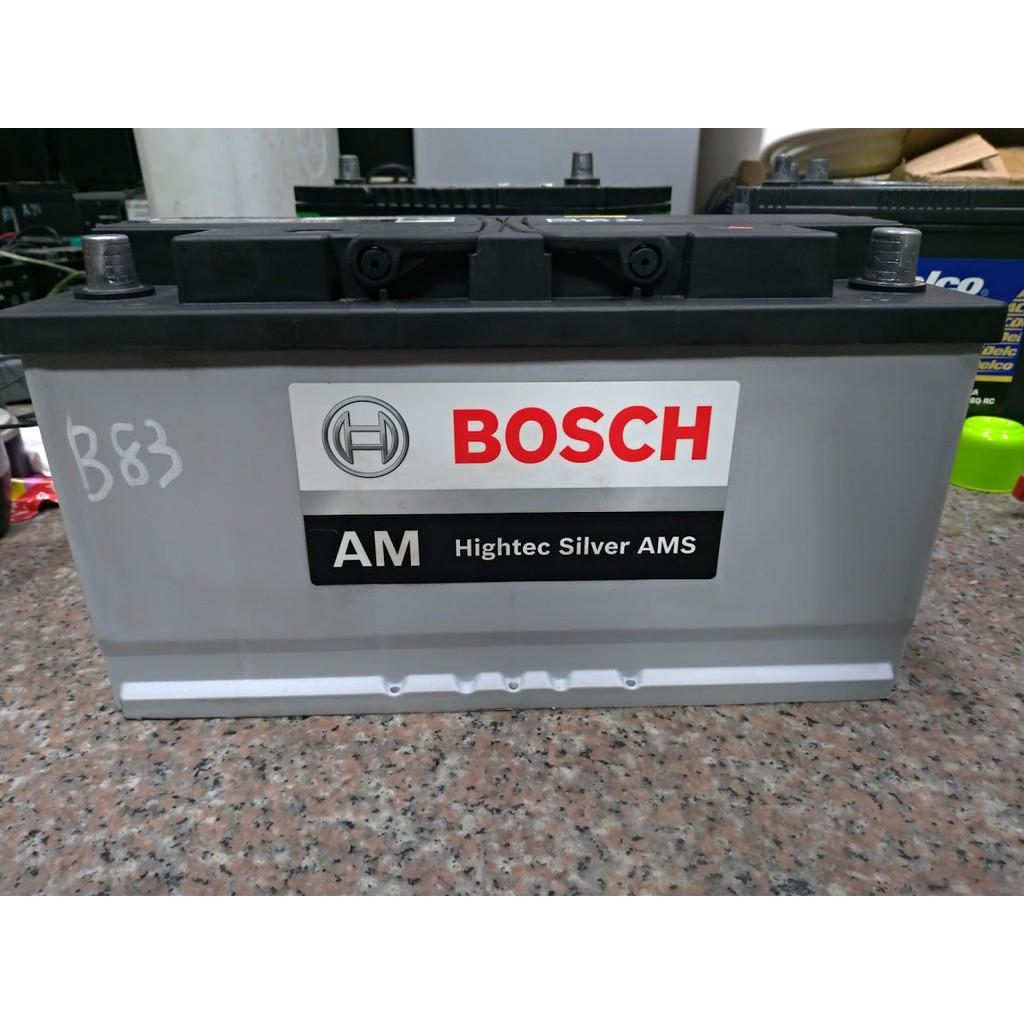 BOSCH AM 60038 60044 60011 12V 100AH 賓士 BMW 汽車電瓶