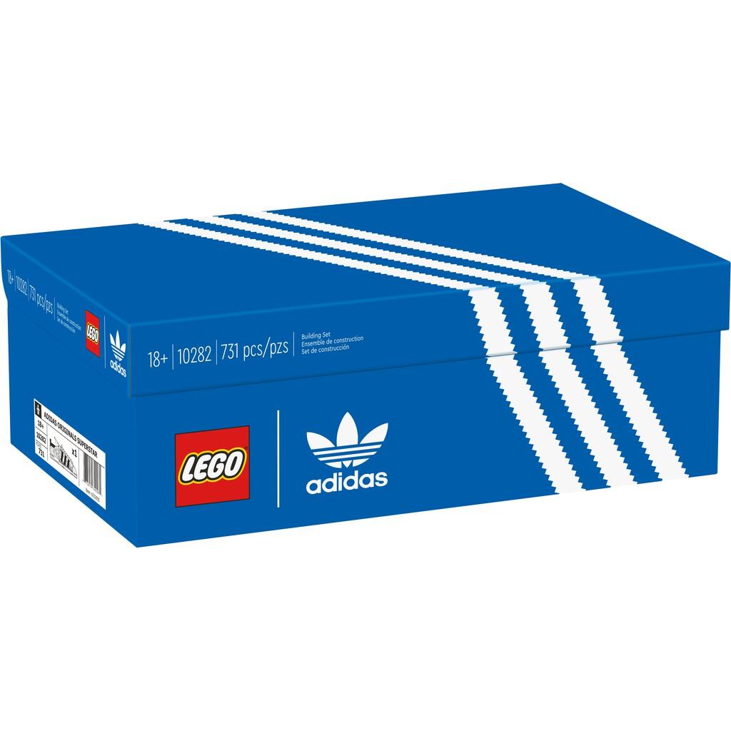 [想樂]全新 樂高 Lego 10282 Creator 愛迪達 Superstar Adidas Originals 鞋子