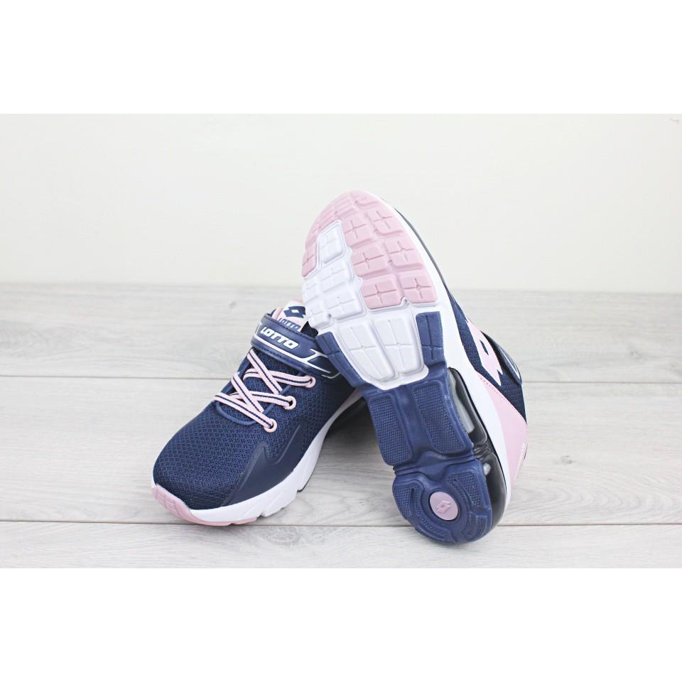 [NN] 附發票 LOTTO 樂得 寬楦 加厚氣墊  慢跑鞋 魔鬼氈  運動鞋 跑步 童鞋 大童鞋 女童[S30]