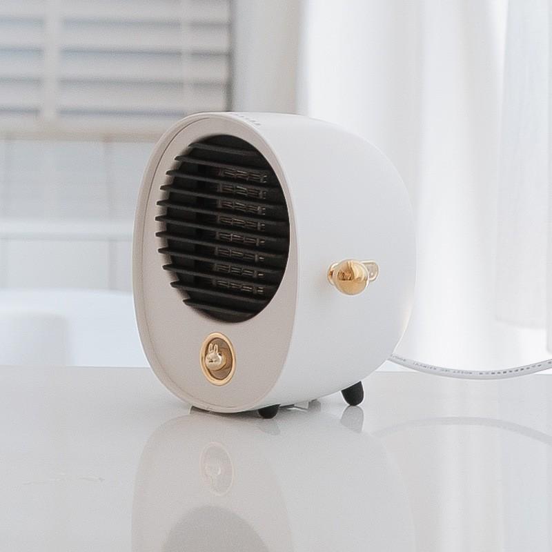【冬日必備】暖風機暖手寶抱抱暖風機小型家用速熱宿舍臥室USB取暖神器小功率靜音迷你節能