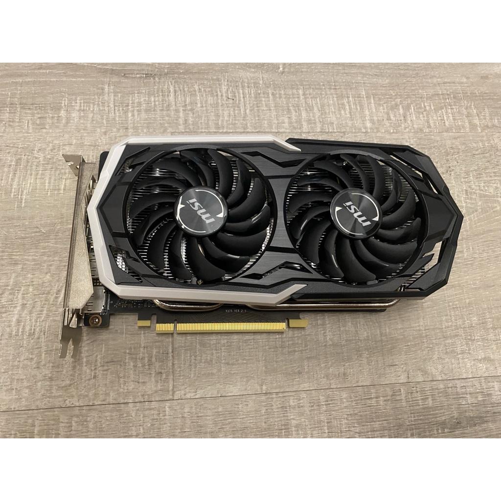 MSI 微星 GeForce GTX 1660 Ti ARMOR 6G OC 二手顯示卡