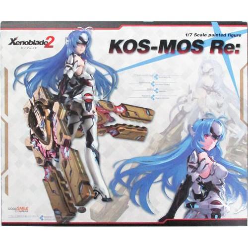 二手《日版》 GSC 異度神劍 2 異域神劍 KOS-MOS Re: 1/7 比例模型 PVC 公仔 【店鋪限定】