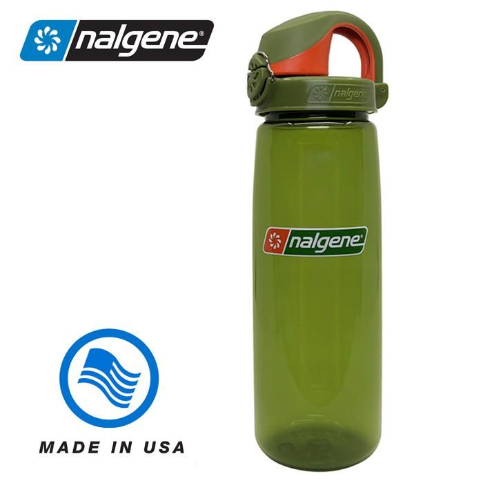 【Nalgene 美國】650ml OTF 運動水壺 水瓶 隨身水壺 無雙酚A 杜松/杜松 (5565-1424)