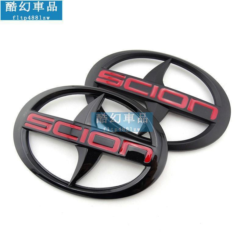熱賣車標貼 Toyota scion mark yaris altis wish logo黑色 美規 車標 標誌  北美