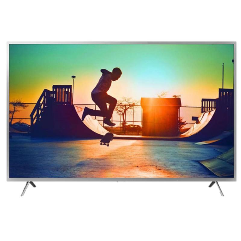 PHILIPS 飛利浦 58吋 4K Ultra HD 聯網智慧型液晶顯示器+視訊盒 58PUH6123