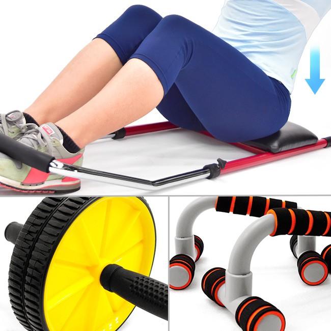 仰臥起坐板+伏地挺身器+健美輪(送跪墊)M00059健腹機健腹器.健腹輪緊腹輪.運動健身器材.推薦哪裡買