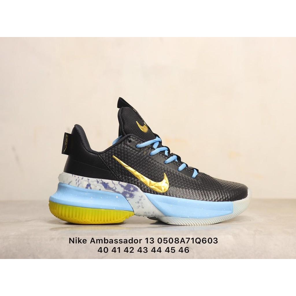 耐吉Nike Ambassador 13 使節13 綠藍白橙