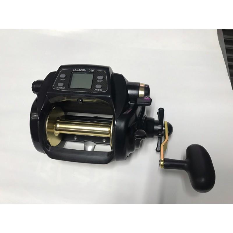 〈再興釣具店〉DAIWA TANACON 1000黑寶 台版 電動捲線器,全新公司貨
