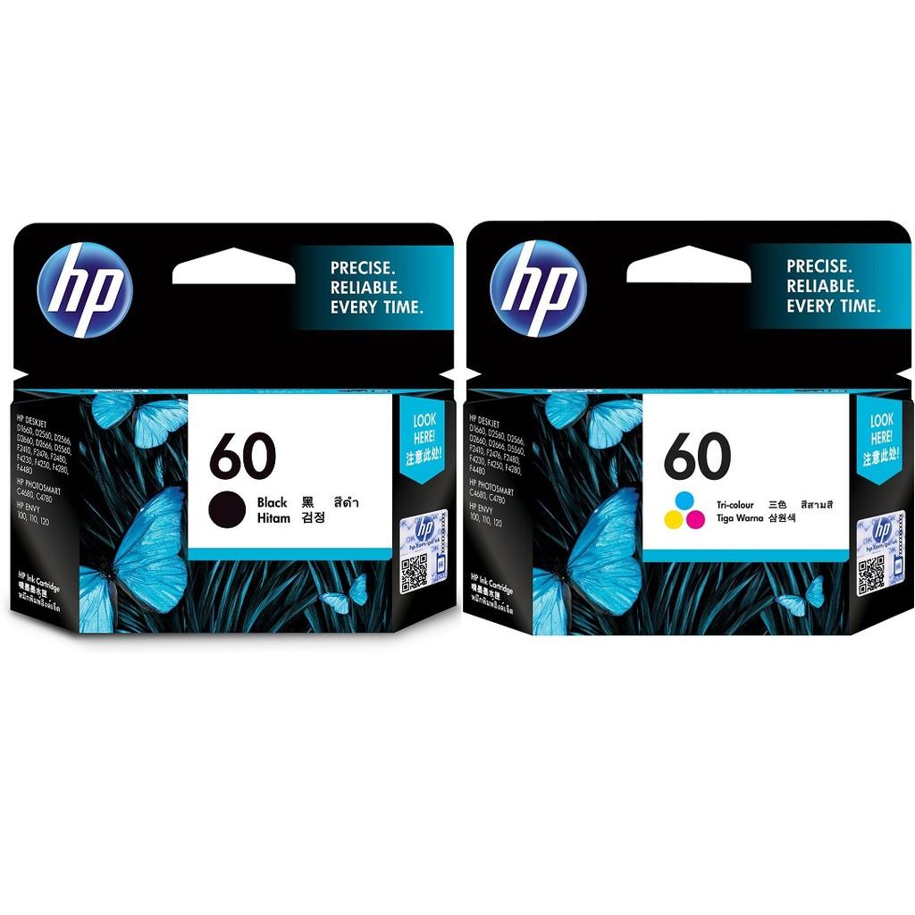 HP NO.60 原廠墨水匣 CC640WA|CC643WA 適用 D2560|F4280|F4224|D1660