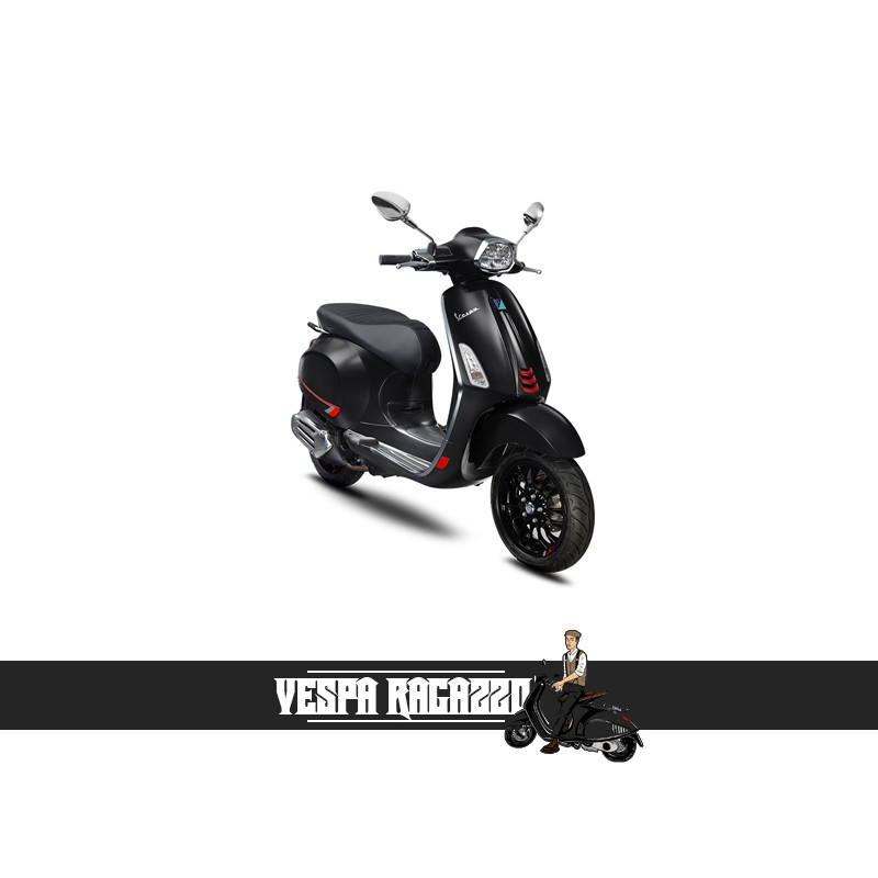 【VESPA RAGAZZO】VESPA Sprint S 150 i-get ABS 火山黑