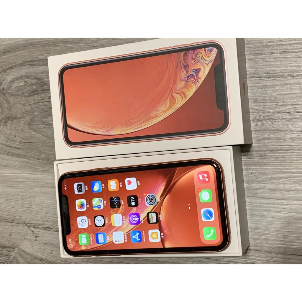 Apple iPhone XR 64G 64GB (6.1吋) 珊瑚紅 二手機使用公能都正常