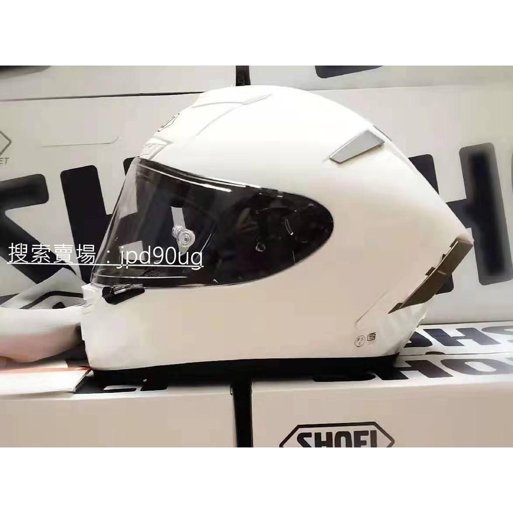 【夕夏】shoei x14頭盔 x14 純白全盔安全帽 休一頭盔素白色全盔 全罩安全帽