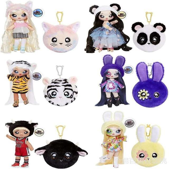 nanana surprise 驚喜娜娜四代 時尚布娃娃女孩玩具禮物