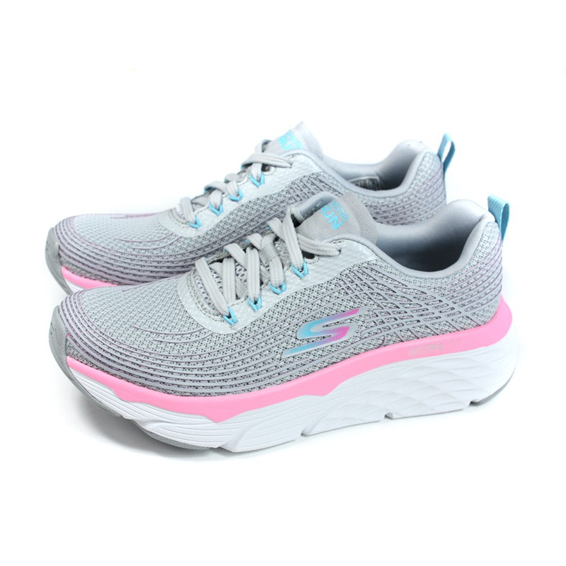 SKECHERS GO RUN 運動鞋 女鞋 灰色 17693GYPK no210