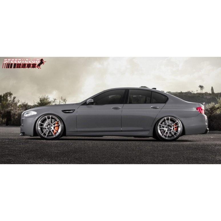 BMW 5系列 F10 改M5 專用側裙組 實品