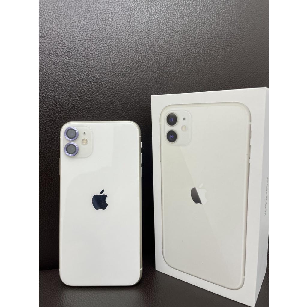 IPHONE11 128G 白二手機 超級新 蘋果11 128G 二手機 中古機 超級新 I11 128G保固內