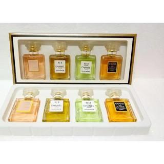 【特價】 香奈兒 經典香水組合 Coco+5號+19號+半黑Coco 4x20ml 送禮 情人節禮物