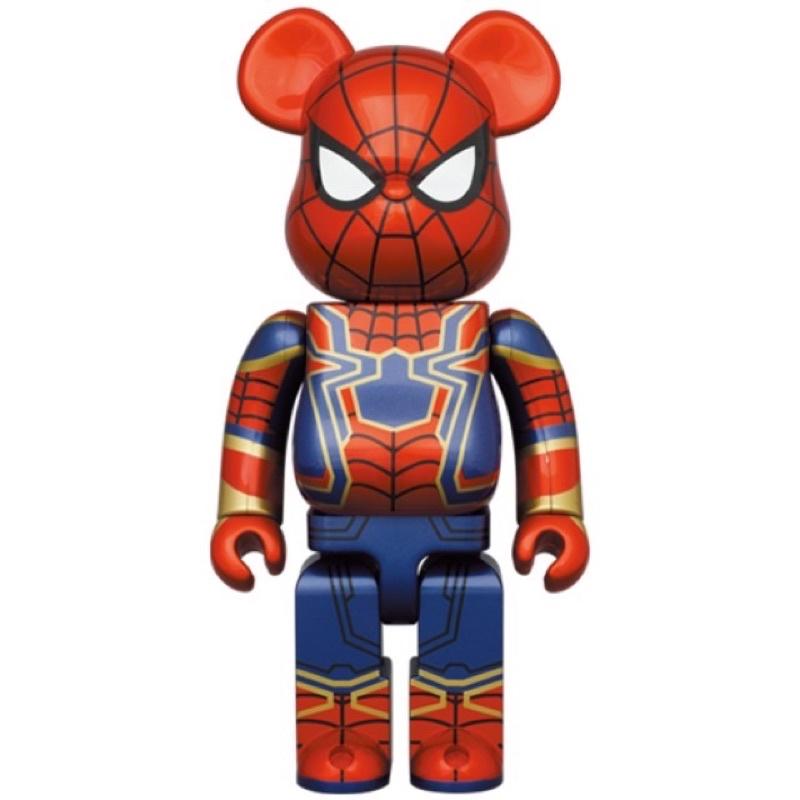 「全新現貨」鋼鐵蜘蛛人 BEARBRICK BE@RBRICK Iron Spider 死侍 1000%