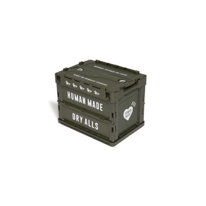HHUMAN MADE CONTAINER (20L) 軍綠 置物箱 收納箱
