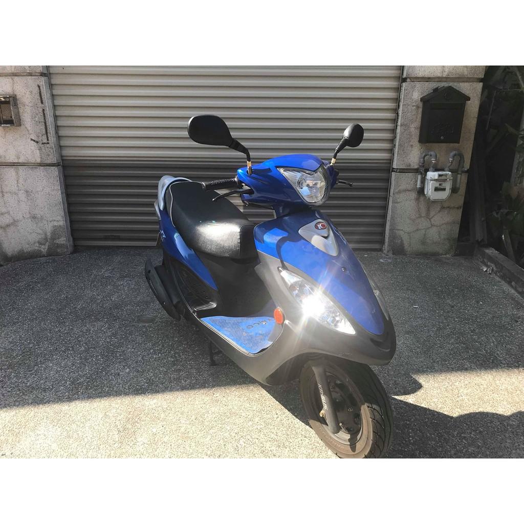 【幽浮二手機車】KYMCO GP2 125 藍色 2014年 【999元牽車專案開跑 】