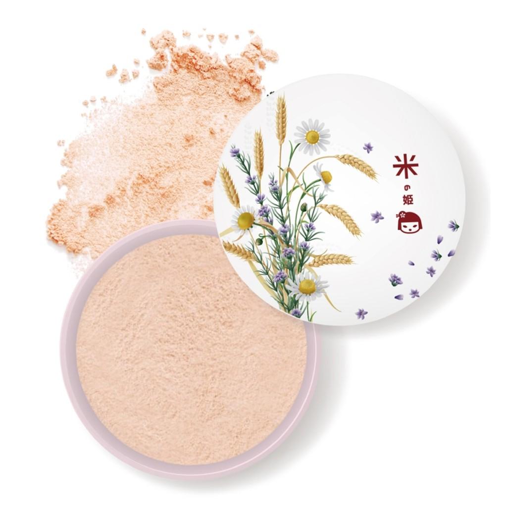 【明山玫伊.com】日本米之姬革命性養膚面膜粉底10g/盒