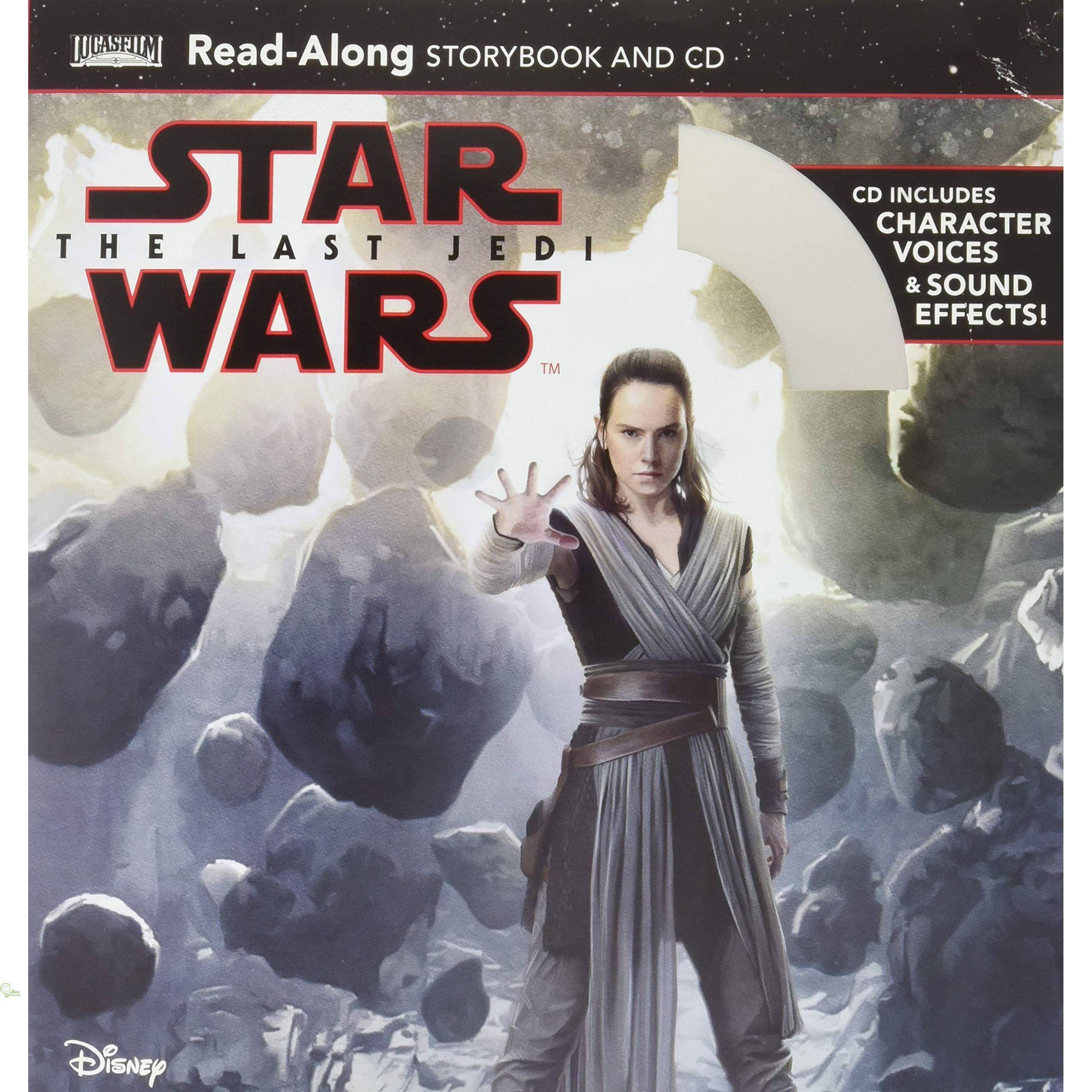 Star Wars - the Last Jedi (1平裝+1CD)【禮筑外文書店】(有聲書)[79折]