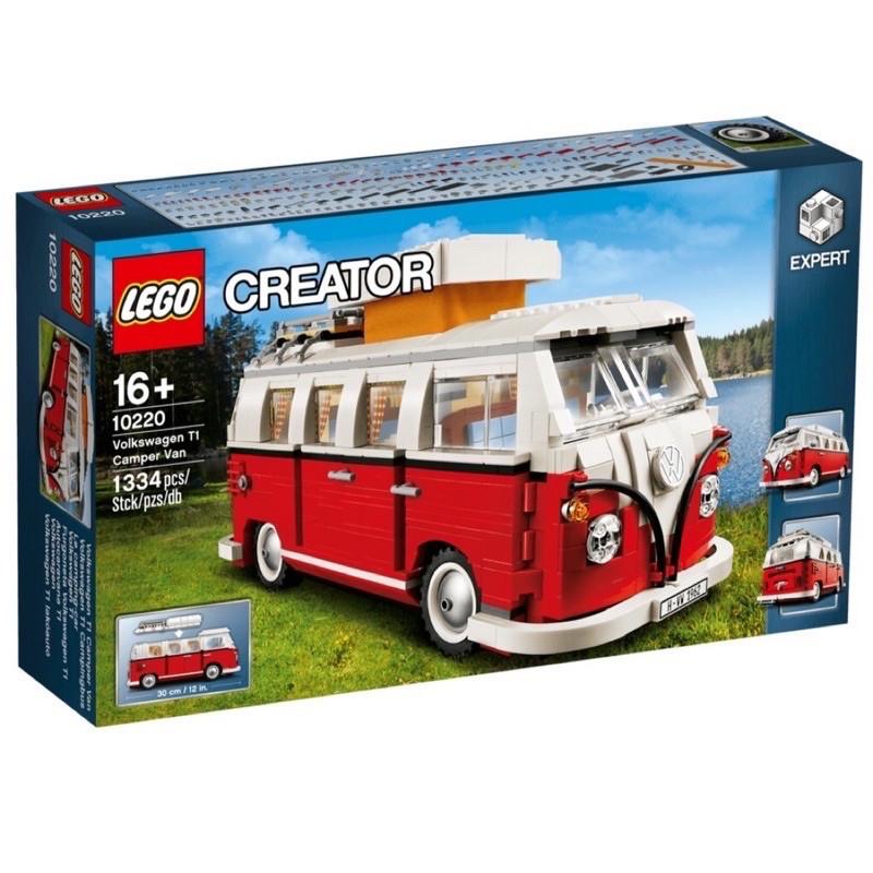 [現貨]LEGO 10220 福斯T1露營車 可面交 樂高 露營車 LEGO creator 積木 Volkswagen