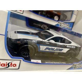 ✶78shop✶ 現貨 1/ 18 Maisto Bburago Ford Mustang GT Ploice福特野馬警車 桃園市