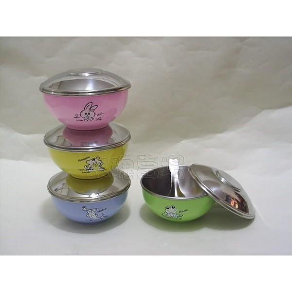 (玫瑰Rose984019賣場)ZEBRA斑馬牌~不鏽鋼蓋~兒童碗(隔熱碗)~#304不銹鋼最安全(有4色可選)
