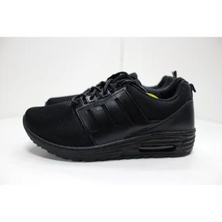 現貨即出 26號 台灣製造 MIT 男鞋 氣墊運動鞋 慢跑鞋 運動鞋 工作鞋 全黑 服務業 餐飲業 黑布鞋 臺北市