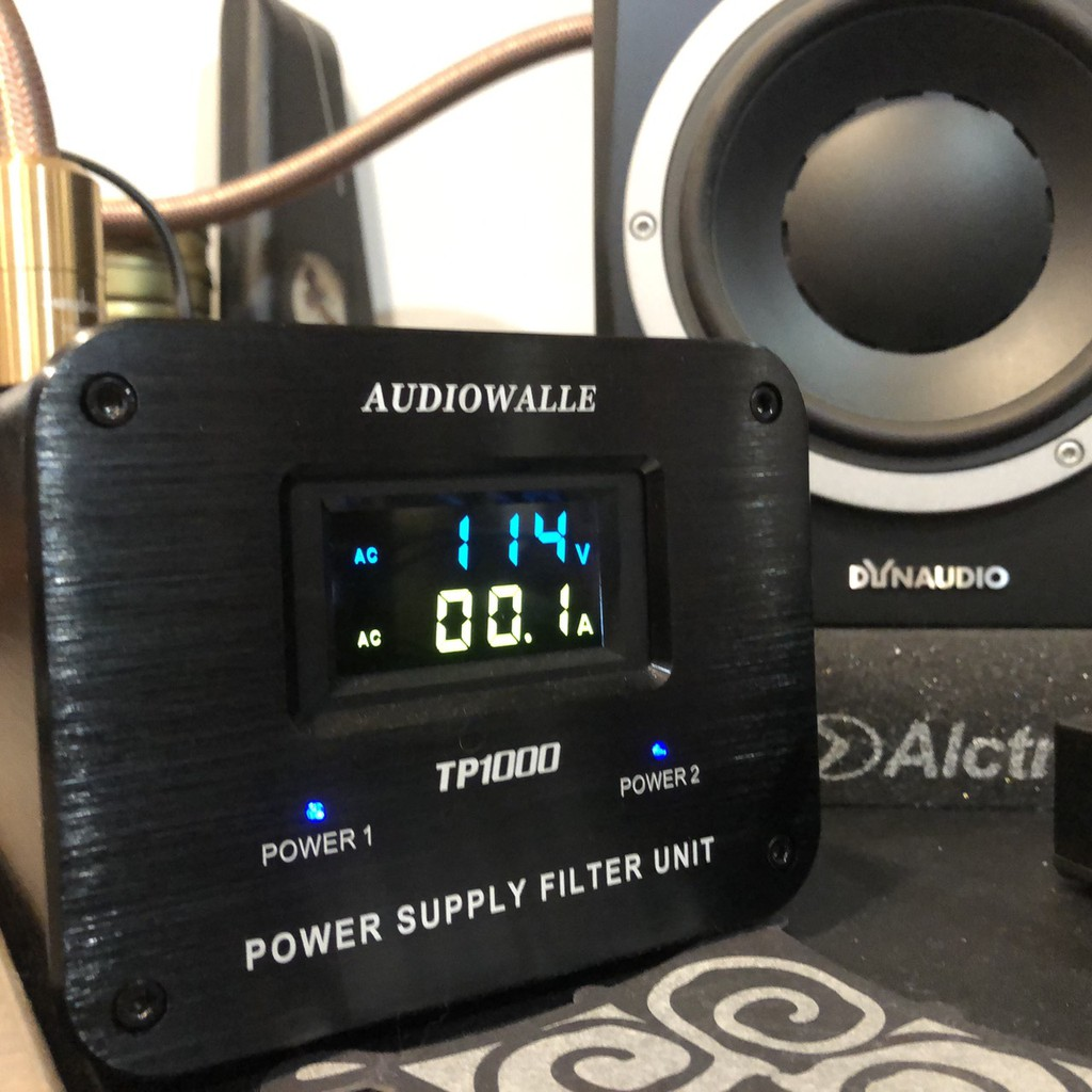 Audiowalle TP1000 電源濾波器+Accuphase 日本hifi電源線 加厚鋁殼 錄音 宅錄監聽