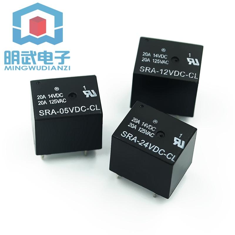 5腳| SRA- 12 24VDC-CL 12V 24V T74 20A 繼電器