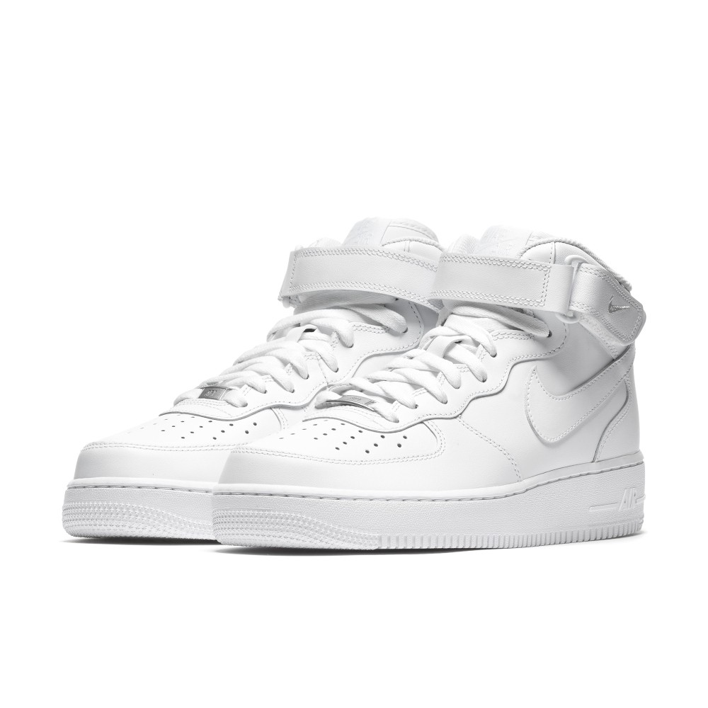 Nike Air Force 1 MID 全白 高筒 男女尺寸 空軍一號 CW2289111 Sneakers542