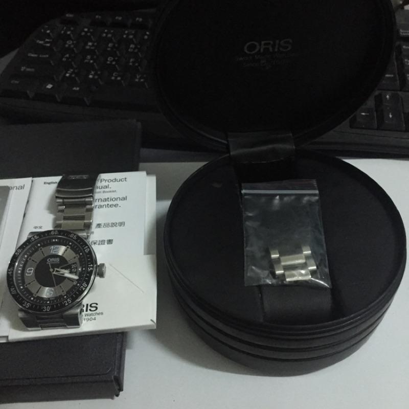 ORIS 豪利時 機械錶 TT2 鐵錶帶