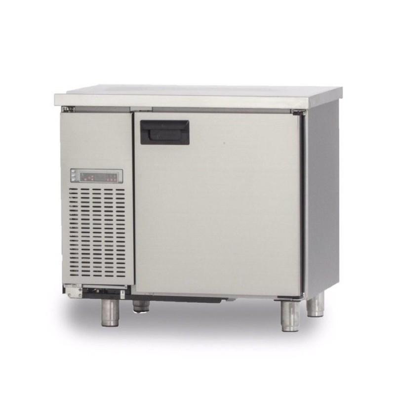 3尺 工作台冰箱 110V 全冷藏 90x60x高90 大容量 小主機 機左
