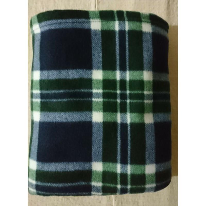 全新PIERRE BALMAIN PARIS格紋大件柔軟薄毯 空調毯
